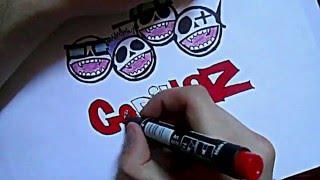 Видео: Как нарисовать граффити? #2(обучающее видео по рисованию граффити карандашом поэтапно, урок #2., 2016-01-04T10:06:09.000Z)