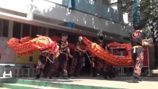 仁濟醫院靚次伯紀念中學 - 嘉諾撒小學舞龍表演