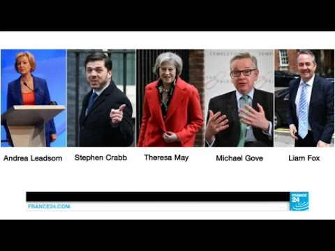 Brexit : qui pour succéder à David Cameron au poste de premier ministre du Royaume-Uni ?