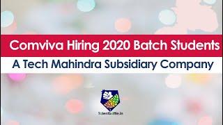 Comviva Hiring 2020 Batch Students : A Tech Mahindra Subsidiary Company | Off Campus Update !