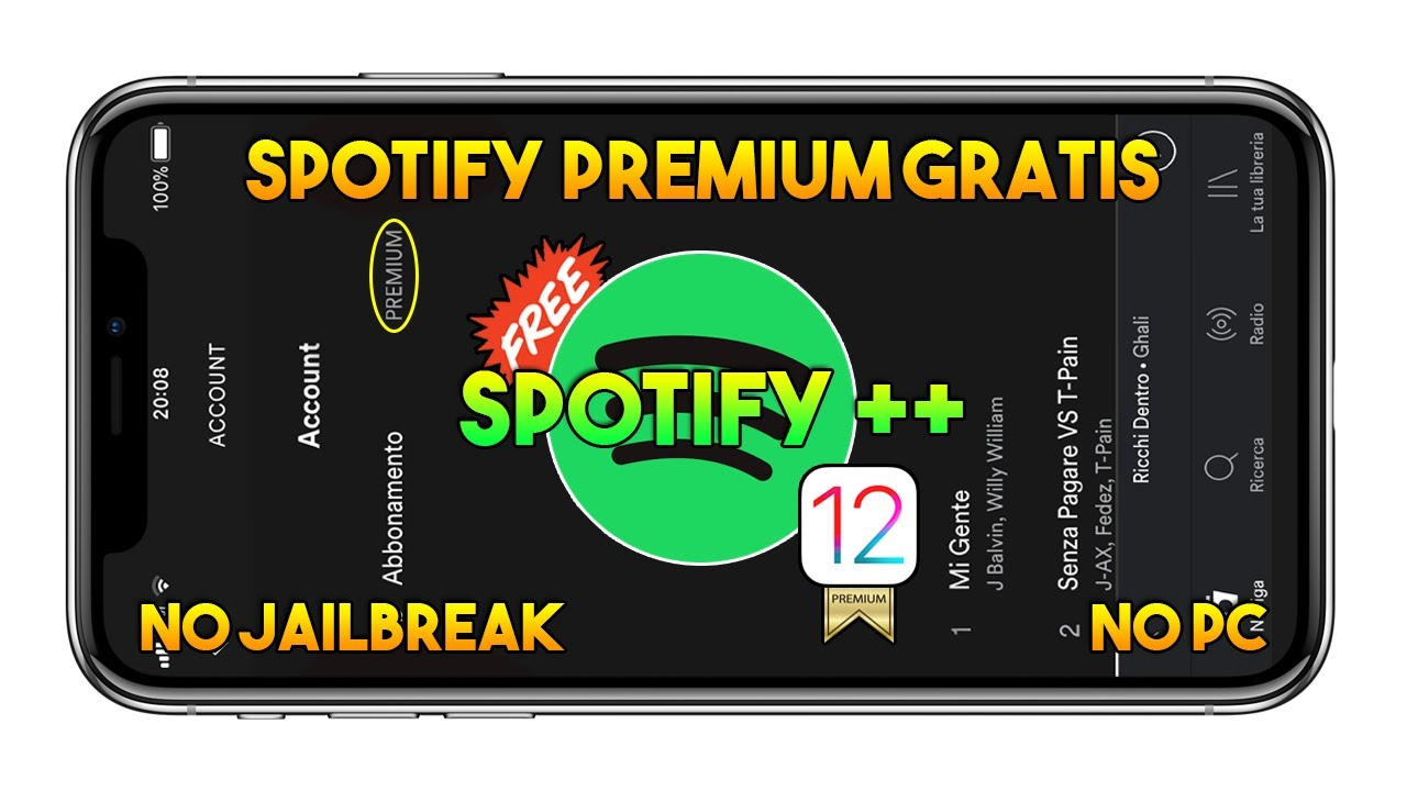 free spotify premium iphone without jailbreak
