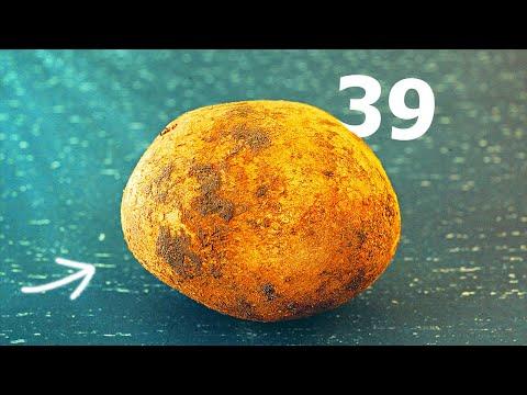 Вопрос: Откуда внутри картошки берутся серые прожилки?