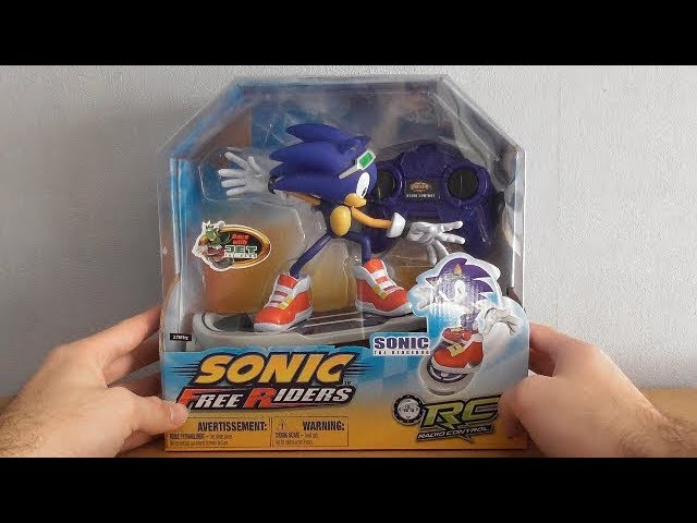 Sonic Free Riders Remote Control Youtube