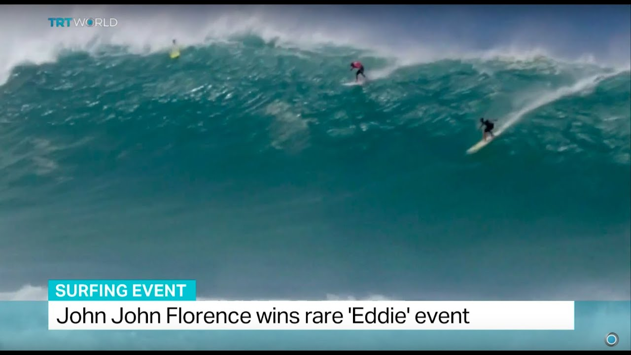 adc24add3f John John Florence wins rare  Eddie  event in surfing - YouTube