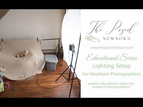 Studio Lighting For Newborn Photographers