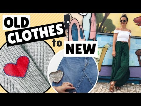 DIY Clothes Hacks | How to revamp your old Clothes