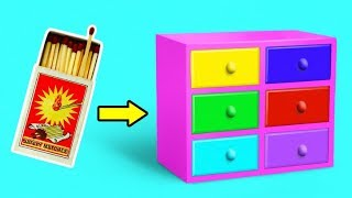 22 SIMPLE DIYs FOR A MINIATURE DOLLHOUSE