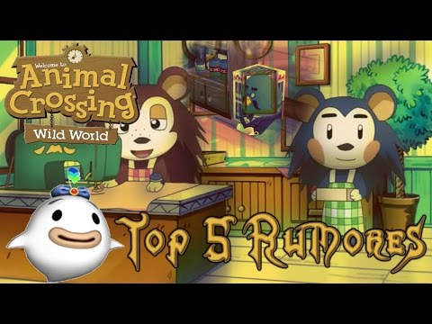 "Mi top 5: Rumores, leyendas y ""trucos"" de Animal Crossing Wild World (DS)"