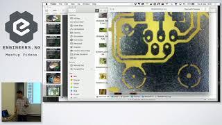 Ironman T-Shirt + DIY Etched Gesture Sensing PCB - Hackware v4.4