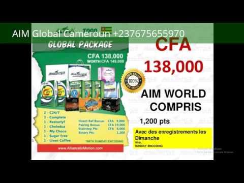 Plan marketing AIM Global Cameroun +237675655970