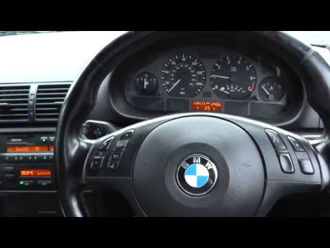 BMW E46 Dash Warning Lights Ignition & Engine Start