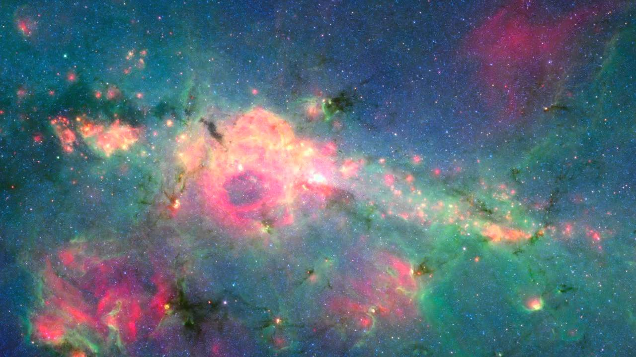 The Galactic Center Revisited (Hidden Universe Gallery ...