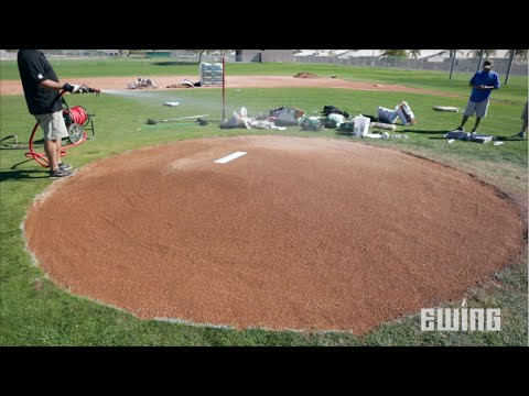 How To Renovate A Pitcher's Mound