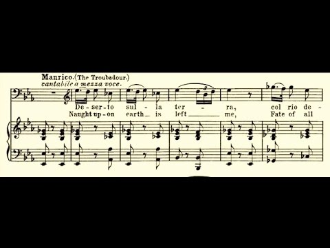 Francesco Tamagno - Deserto sulla terra (1903)