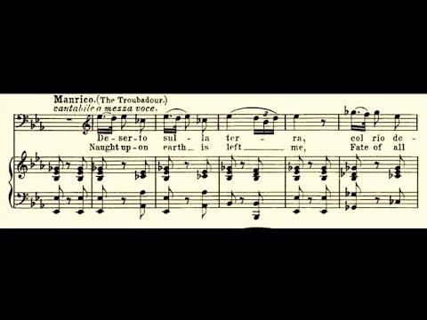Francesco Tamagno - Deserto sulla terra (1903)de YouTube · Durée:  1 minutes 52 secondes · 6.000+ vues · Ajouté le 05.04.2011 · Ajouté par belcantopera