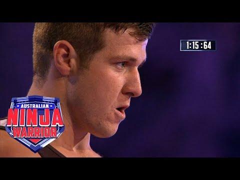 Ninja run: Mark Daniels | Australian Ninja Warrior 2018