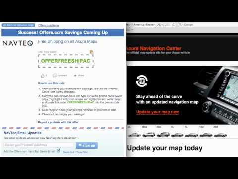 NavTeq Coupon Code 2013 - How To Use Promo Codes And Coupons For Navigation.com