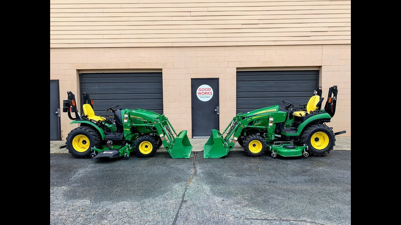 John Deere 2025r: New Style vs Old Style
