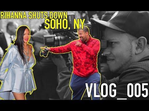 RIHANNA SHUTS DOWN SOHO || Positive Paps 005