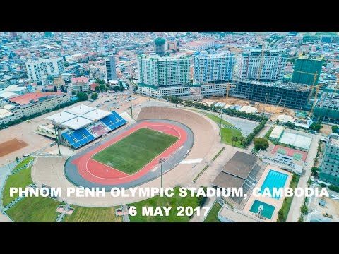 Phnom Penh Olympic Stadium, Cambodia 6-5-2017