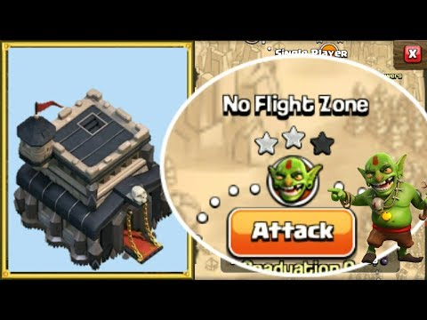 Townhall 9 VS No Flight Zone - Conquer The Goblins #EP 7 - Clash Of Clans