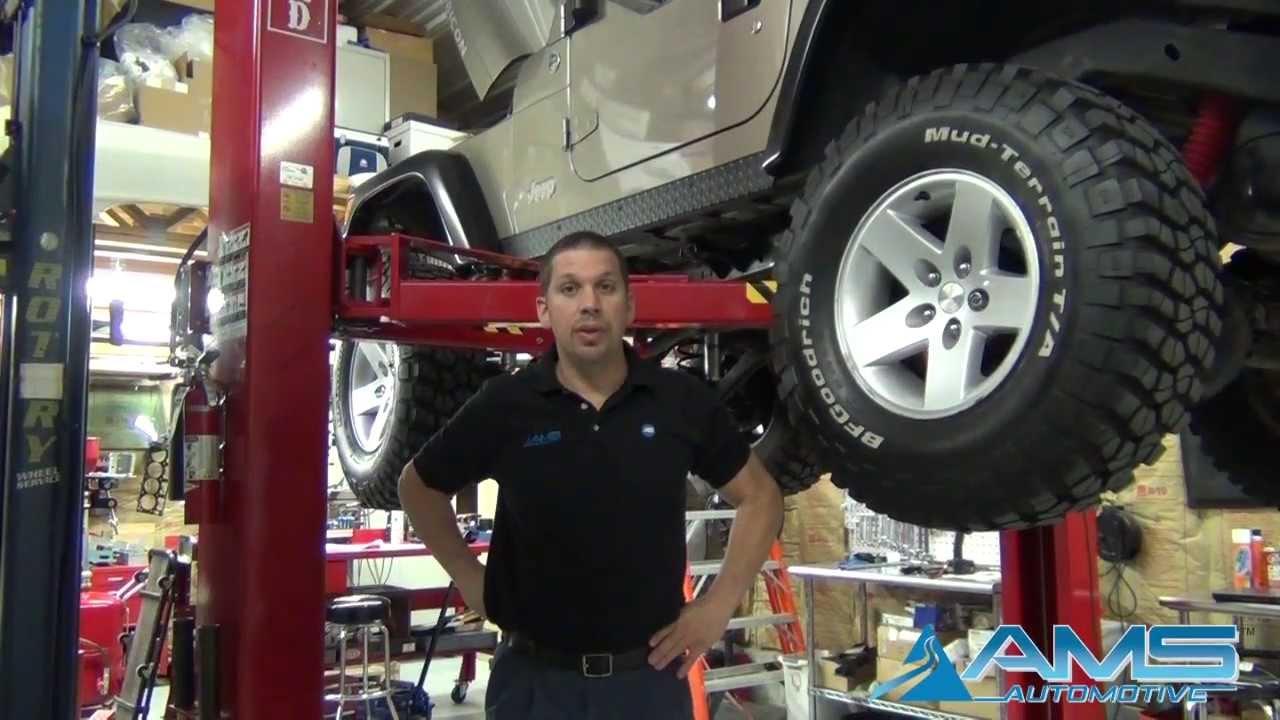 medium resolution of jeep wrangler rubicon clutch and flywheel installation ams automotive youtube