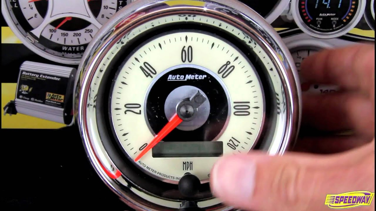 auto meter 1298 american muscle air core in dash tachometer gauge Auto Meter Tachometer Wiring