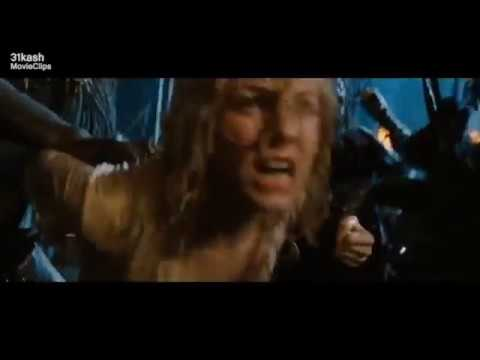 Sexy Young Blonde Girl With Wet Hair Being Kidnapped By Jungle Natives (Naomi Watts/King Kong 2005)