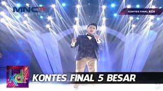 "Yogie "" Dia Lelaki Aku Lelaki "" Bukittinggi - Kontes Final KDI 2015 (27/5)"