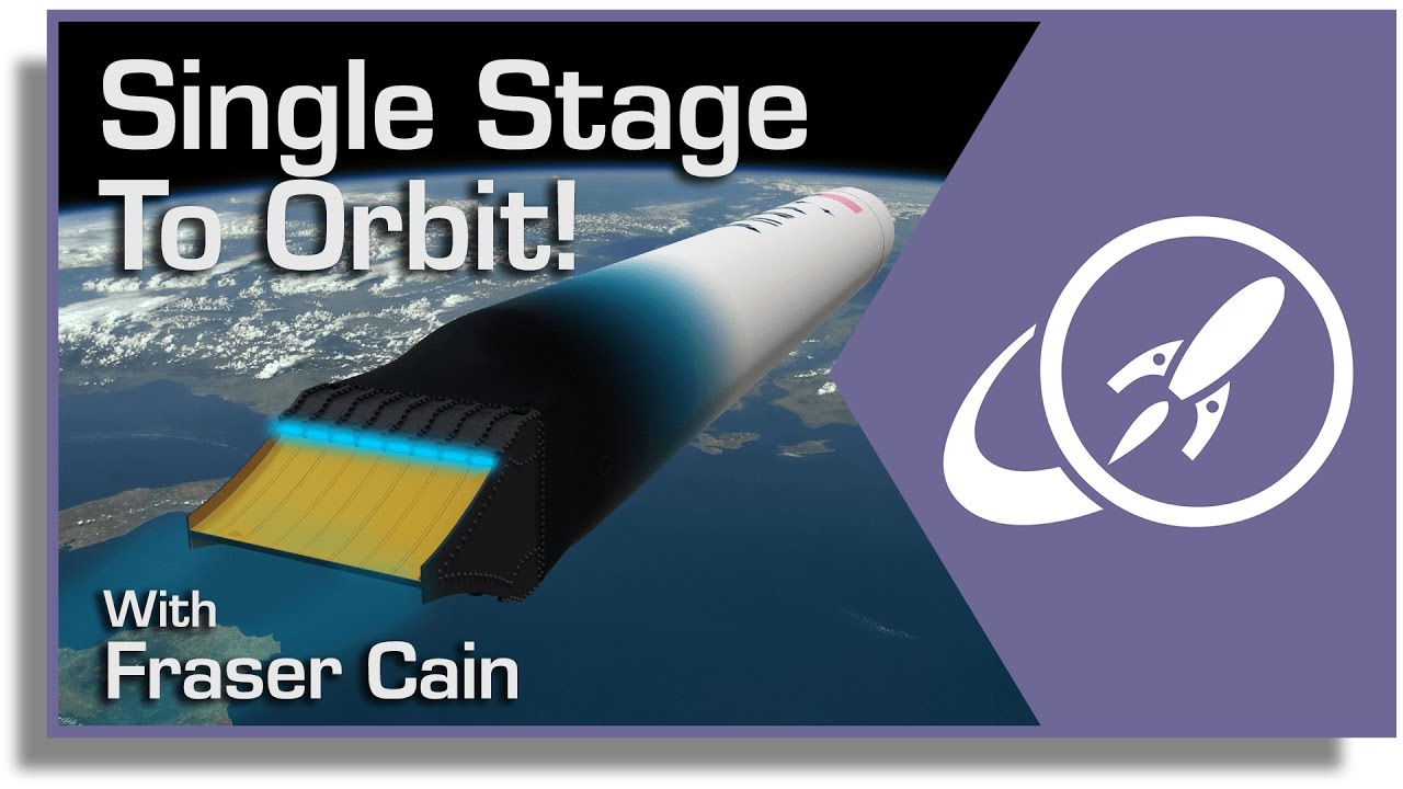 Why Do Rockets Need Stages? The Quest to Build a Single Stage to Orbit (SSTO)