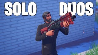 Solo Duos using THE REAPER aka JOHN WICK Skin in Fortnite