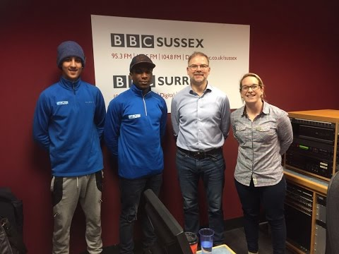 Snow-Camp on BBC Sussex Radio with Danny Pike