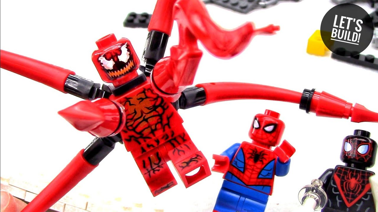 LEGO Spider-Man Miles Morales Minifigure Into the Spider-verse 76113 Spiderman