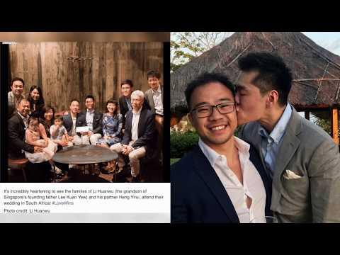 Singapore social media users cheered for Lee Kuan Yew Grandson Gay Marriage