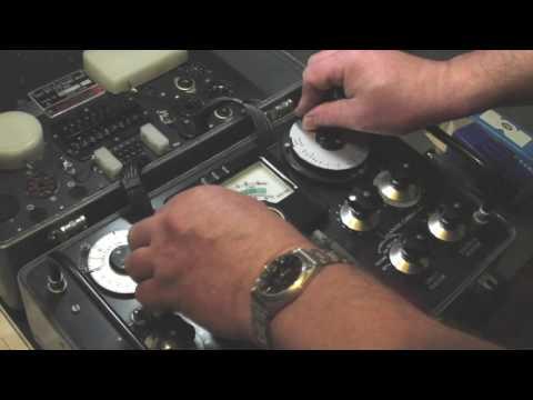 AVO CT160 - Valve Testing - Mullard EL34 - 6SN7 Dual Triode  - GZ34 Rectifier