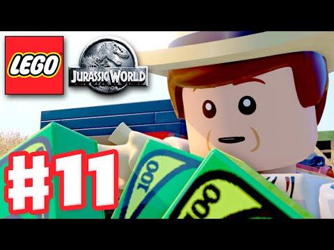 LEGO Jurassic World - Gameplay Walkthrough Part 11 - Jurassic Park III! (PC)