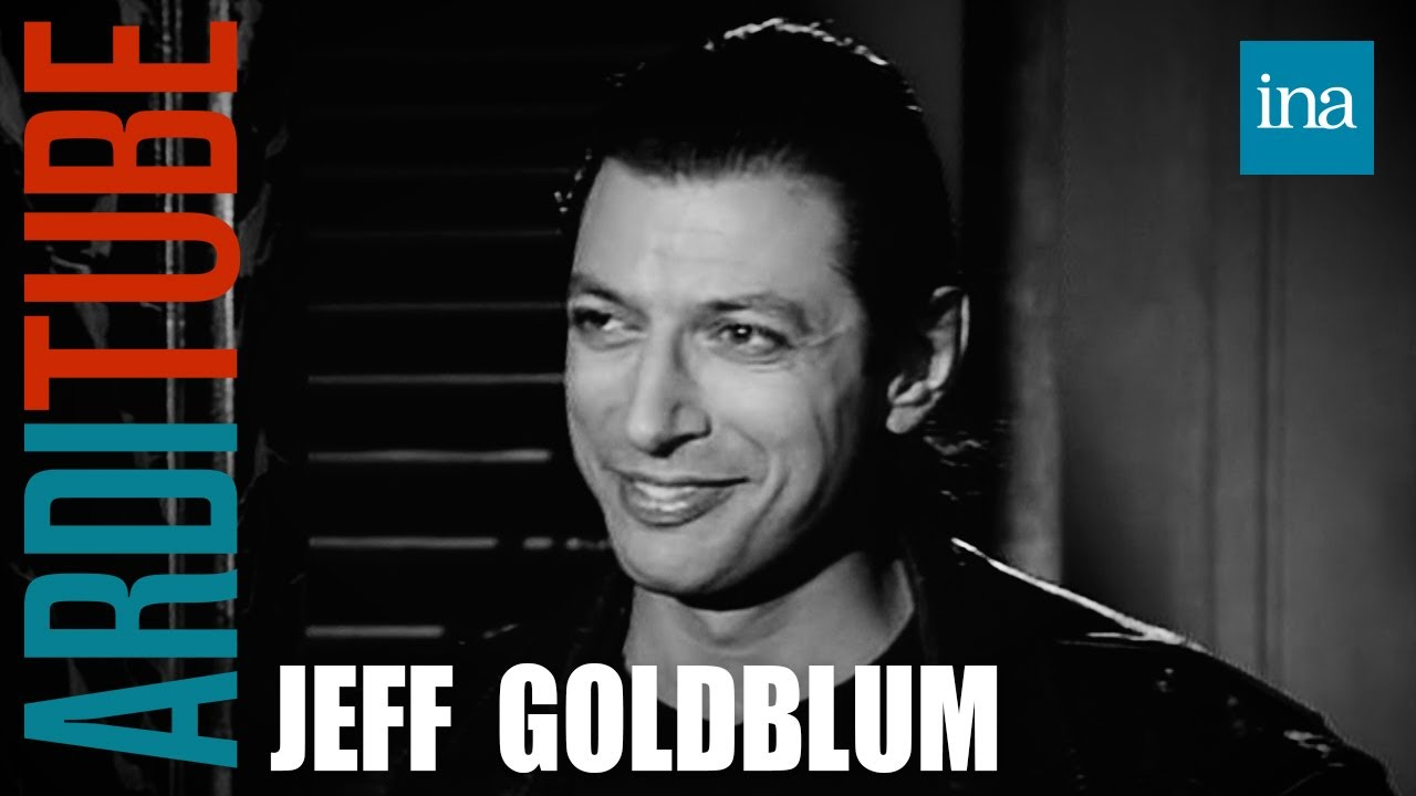 Jeff Goldblum face à lui-même chez Thierry Ardisson | INA Arditube