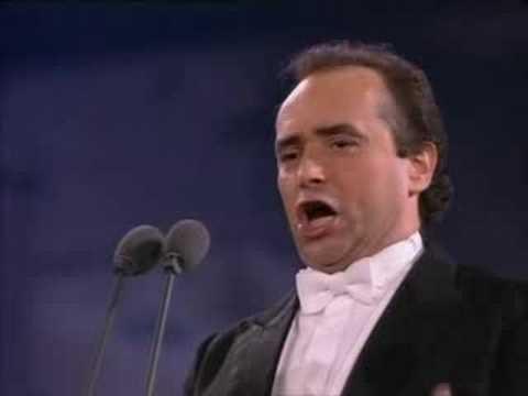 Jose Carreras: Core N'gratto from Roma concert, 1990