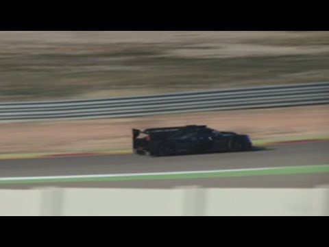 Fernando Alonso tiene primera toma de contacto con el Ligier en Motorland
