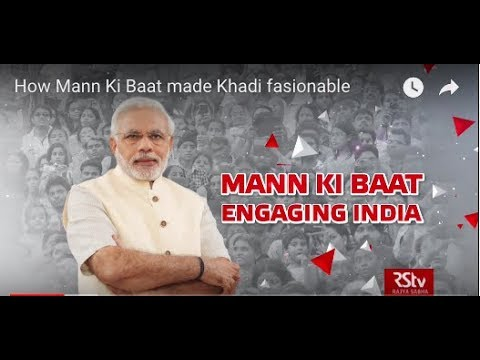 How Mann Ki Baat made Khadi fasionable