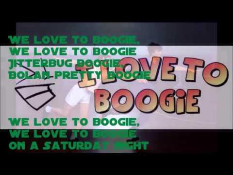 I love to boogie  T. Rex - Karaoke selbst gebastelt