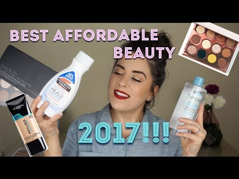 BEST AFFORDABLE BEAUTY OF 2017!!!!