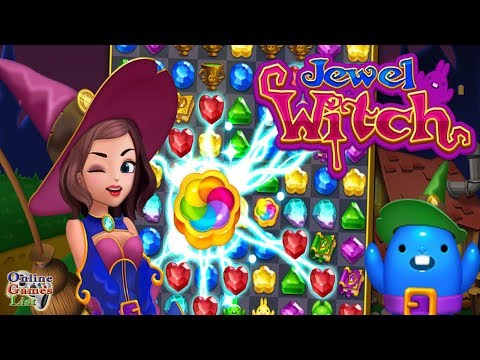 Jewel Witch - Best Funny Puzzle Android Gameplay ᴴᴰ