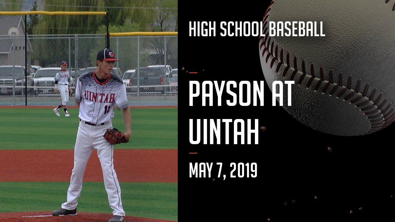 18-19  Baseball - Payson at Uintah