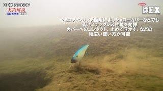 琵琶湖で実釣! DEX SC63F
