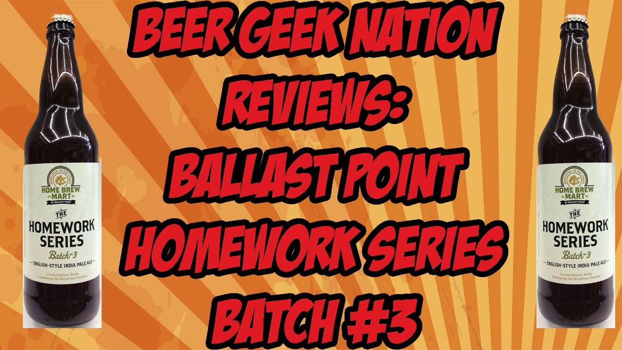ballast point homework series #3