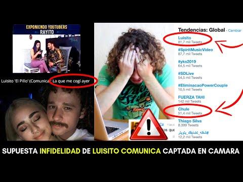 LUISITO COMUNICA CANCELADO! SUPUESTA INFIDELIDAD EXPUESTA EN VIDEO POR LIZBETH RODRIGUEZ