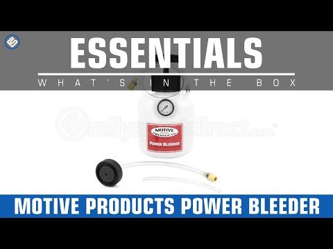 Motive Brake Power Bleeder - What