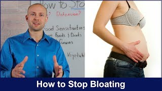 How to STOP BLOATING 2018 - Do this or else!