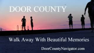 Walk Away Memories - Sister Bay Sunset - Door County Sunsets